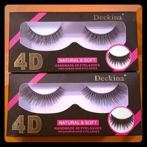 4D Natural handmade lashes